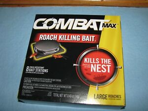 Combat-Max-Roach-killing-Bait-Large-Roaches-Kills-the-nest-Child-proof-Free-ship