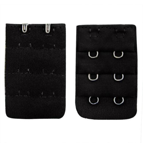 Women Soft Comfortable Bra 2x3 Hooks Extender Strap Adjustable Extension 7PCS UK