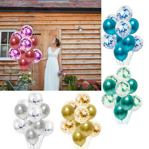 Latex-Or-Rose-Papier-Ballons-Ballons-Ballons-Decoration-De-Fete-D-039-anniversaire