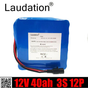 Laudation 48V 10ah Rechargeable Li-ion Battery Built-in Panasonic Battery