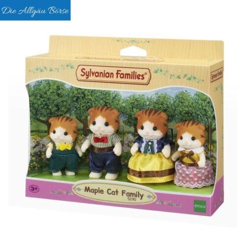 Sylvanian FAMILIES 5290 acero Gatti Famiglia knickohr Maple CAT EPOCH NUOVO OVP