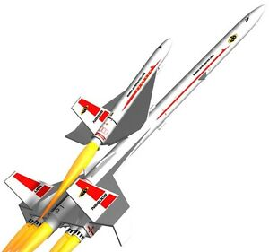 Details about Semroc Flying Model Rocket Kit Orbital Transport KV-66