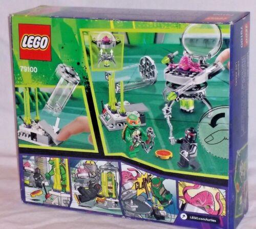 79100 LEGO Teenage Mutant Ninja Turtles Kraang Lab Escape Michaelangelo 90pc set