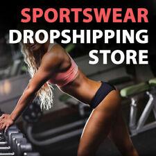 Sportswear Dropshipping Store Turnkey Business Website