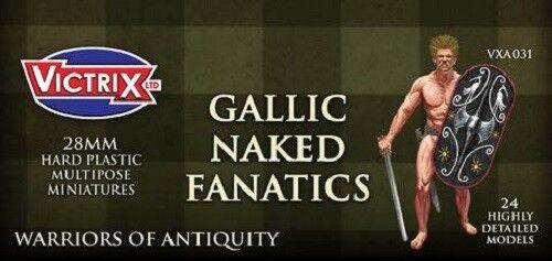 NAKED GALLIC FANATICS - VICTRIX - ANCIENT - VXA031 - SENT 1ST CLASS