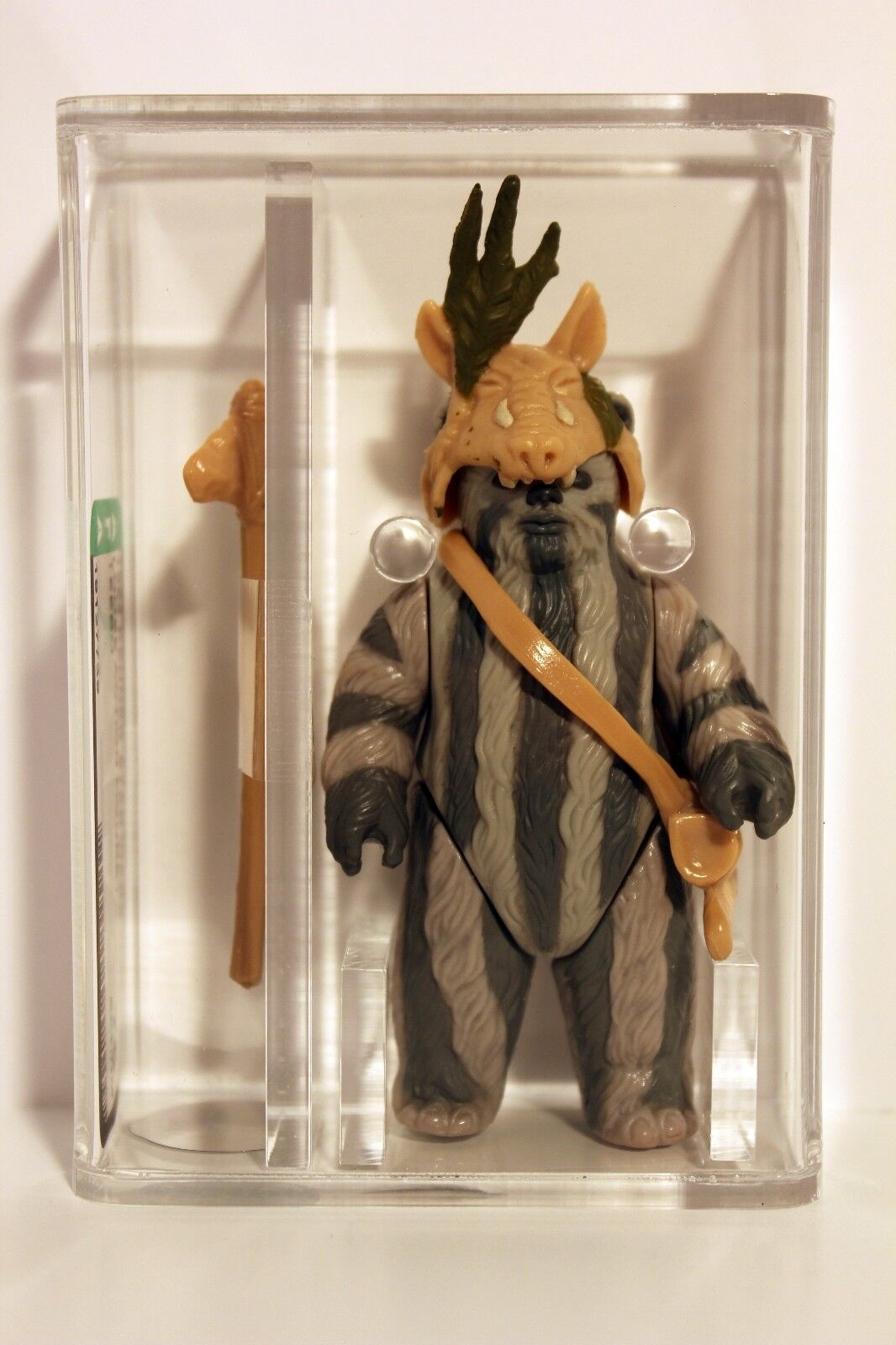 Star Wars Teebo AFA 75 EX+/NM Kenner 1984