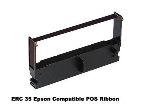 6 Pack Purple POS Ribbon Cartridges for Epson ERC-35B Epson 875// M875 ERC35