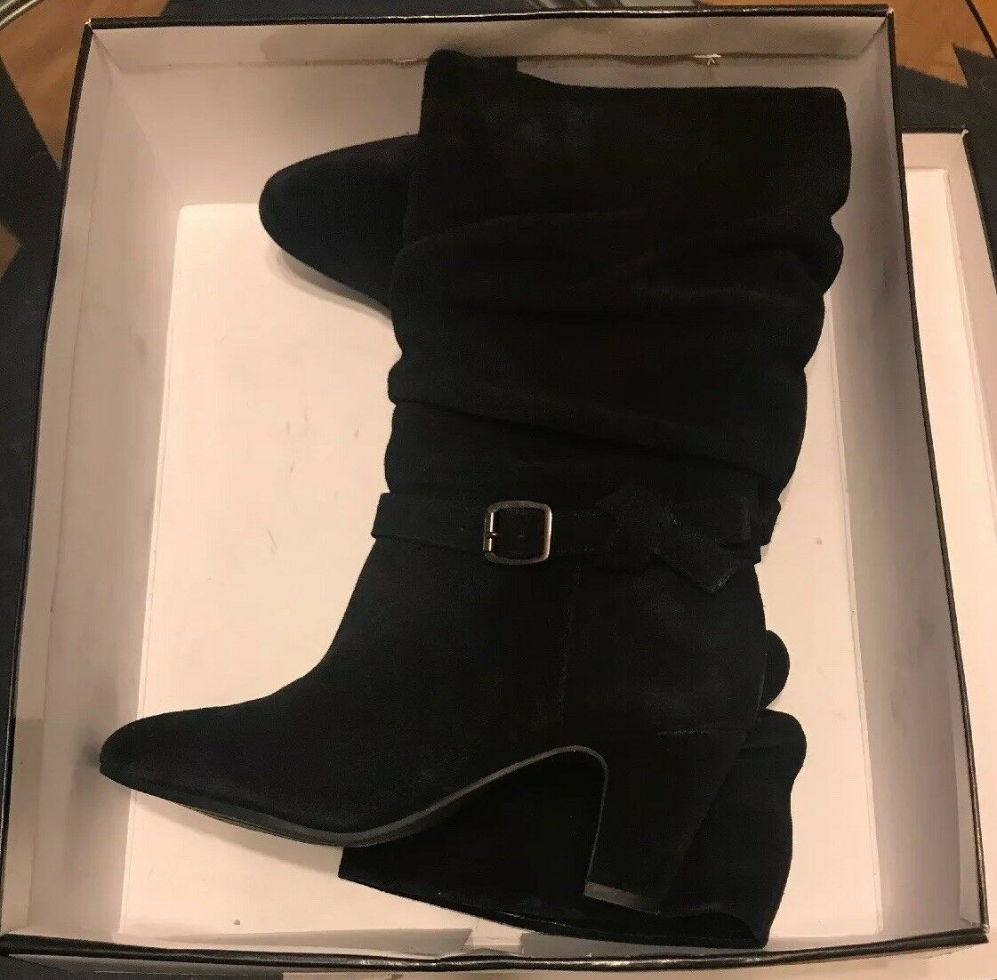 NWT Women Suede Leather Alex Marie Yarra Yarra Yarra Boots Size 8m  Black e4d0c8