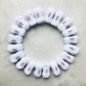 1kg-WHITE-100-Brushed-Egyptian-cotton-ARAN-yarn-gift-set-Oeko-Tex-amigurumi
