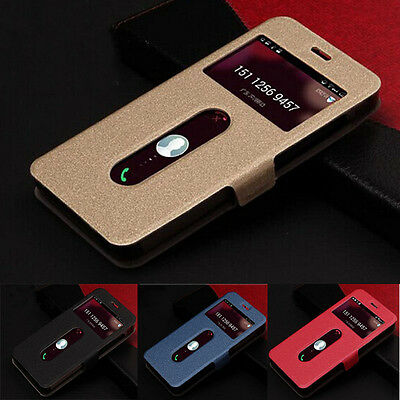 Luxury Leather Flip Pouch Case Cover for Lenovo Phone S850 S850T Pop
