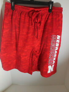 457a412b New Nebraska Cornhuskers NCAA Lounge Shorts Shop Authentic Size ...