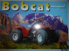 quad POLARIS BOBCAT 50cc WINTERSNOW publicité