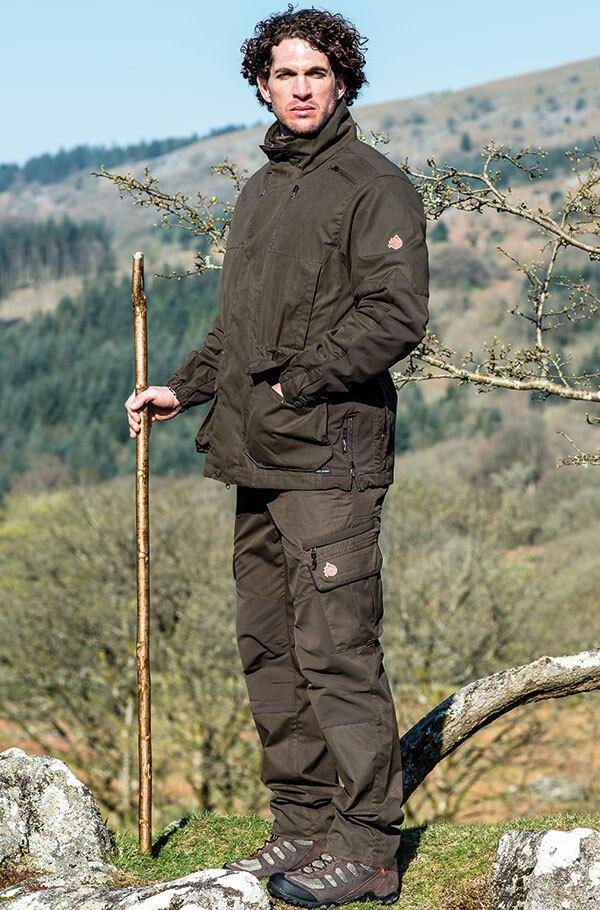 SHOOTERKING - Jagdhose mit elastischem Cordura - einfarbig