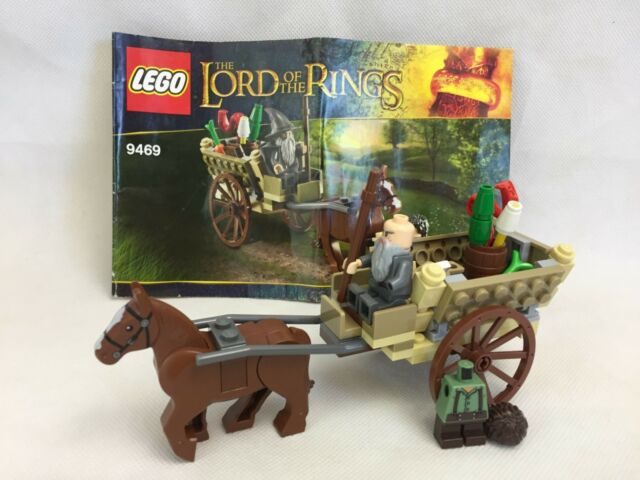 Lego - 9469 - Lord Of The Rings - Gandalf Arrives - Good Condition -