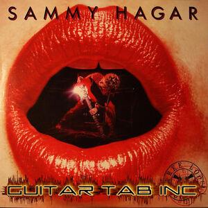100% De Qualité Sammy Hagar Digital Guitar & Bass Tab Trois Lock Box Leçons Sur Disque Gary Pihl-afficher Le Titre D'origine
