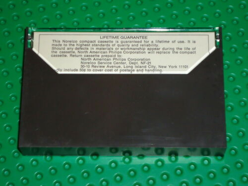 USED 1 NORELCO  C-120  BLANK CASSETTE TAPE