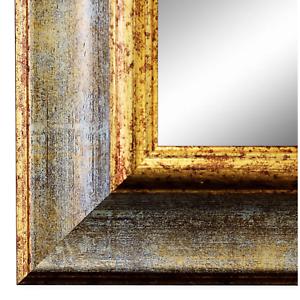 Spiegel Wandspiegel Flur Bad Braun Gold Retro Vintage Holz Acta 6,8 NEU