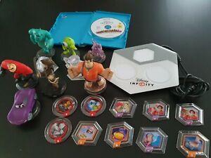 Lot Disney Infinity 1.0 sur Wii U avec 19 pièces