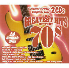 The Greatest Hits of the 70s [Platinum 2003 #1] by Various Artists (CD, Feb-1999, 2 Discs, Platinum Disc)