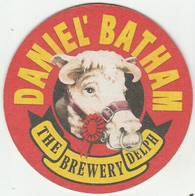 Cat No 024 2016 - DANIEL BATHAM - UNUSED BEERMAT- BATHAMS BREWERY