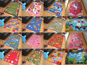 Image Is Loading Childrens Large S Boys Bedroom Playroom Floor Mat