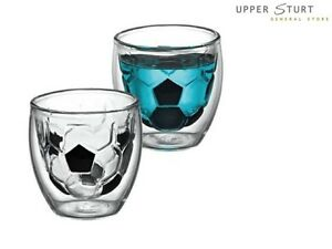 Avanti Take Your Best Shot Shot Glasses Twin Pack Soccer
