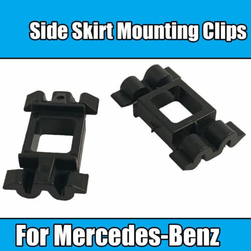 Clip de 10x para Mercedes-Benz Clips Laterales Falda de montaje de plástico negro a 0099884078