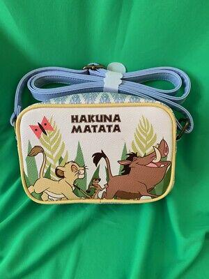 Loungefly Disney The Lion King Hakuna Matata Crossbody Bag Purse New Nwt Ebay