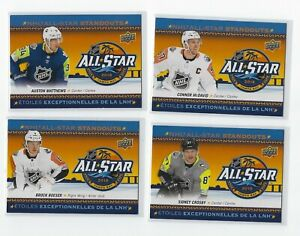 2018-19-UD-TIM-HORTONS-NHL-ALL-STAR-STANDOUTS-INSERT-CARDS-U-PICK-FROM-LIST