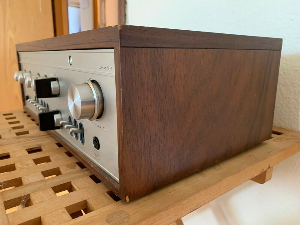 Forstærker, Luxman, SQ505X