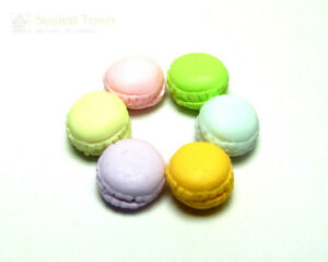 Miniature Flour Pack Sacks Miniature Supplies for Dollhouse Bakery 1:12 6 pcs
