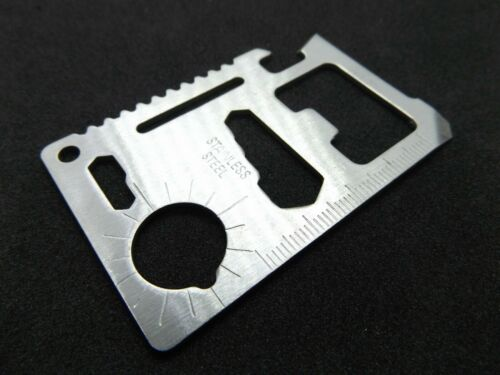 hiking camping multitool fishing survival army  11 in 1 tool system