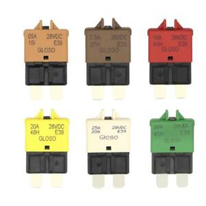 DC14V Auto Reset Mini ATM Circuit Breaker Blade Fuse for Car Motorcycle Truck