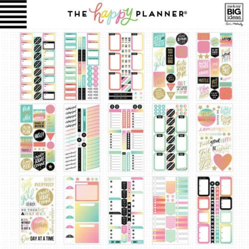 Value Pack Stickers 30 Sht MAMBI The CLASSIC Happy Planner Productivity x985