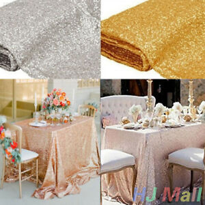 180x120cm-Sequin-Glitter-Tablecloth-Sparkly-Material-Cloth-Wedding-Party-Decor