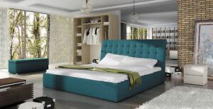 A Imagem Está Carregando Bett TERASSO Polsterbett  Doppelbet Schlafzimmerbett 160 X 200