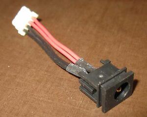DC POWER JACK w/ CABLE HARNESS Toshiba Satellite R15-S8222 R15-S829