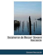 Decameron de Messer Giovanni Boccaccio (Italian Edition) by Boccaccio, Giovanni