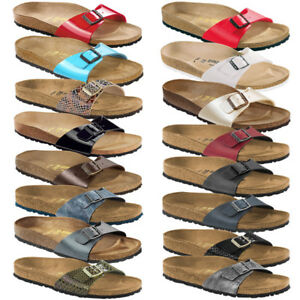 Details about Birkenstock Madrid Womens Shoes Classic Sandals Clogs Mules Slippers show original title