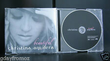 Christina Aguilera - Beautiful 3 Track CD Single Incl Video