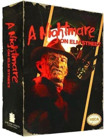 Neca Pesadilla en Elm Street NES juego de video 8-BIT Frojody Krueger Figura Rara