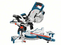 Bosch Gcm 8 Sjl 216mm 8 1600w Professional Sliding Mitre Saw 110v 0601b19160