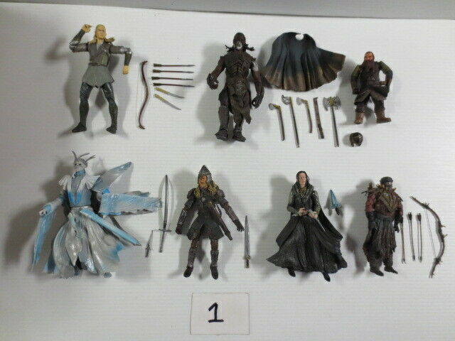 Lord of the Rings HUGE 53 Action Figure lot