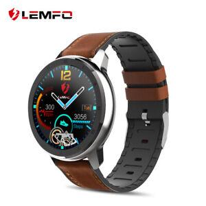 LEMFO-ELF2-smart-watch-monitor-ECG-heart-rate-blood-oxygen-Vie-etanche-HD-screen