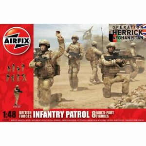 Airfix Airf03701 British Forces Infantry Patrol 1/48