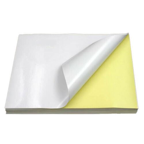 A4 Blanc Mat en polyéthylène imperméable autocollante laser et jet d/'encre Étiquettes