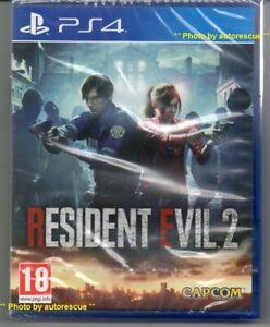 Resident-Evil-2-034-Neu-amp-Versiegelt-034-ps4-vier