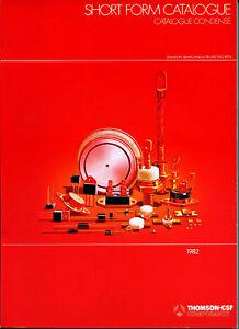 Catalogue Thomson-CSF semiconducteurs discrets xMkS8boX-09090811-906174247