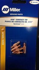 MILLER 186406,186419 CONTACT TIP KIT 5 PIECES EACH .030/&.035