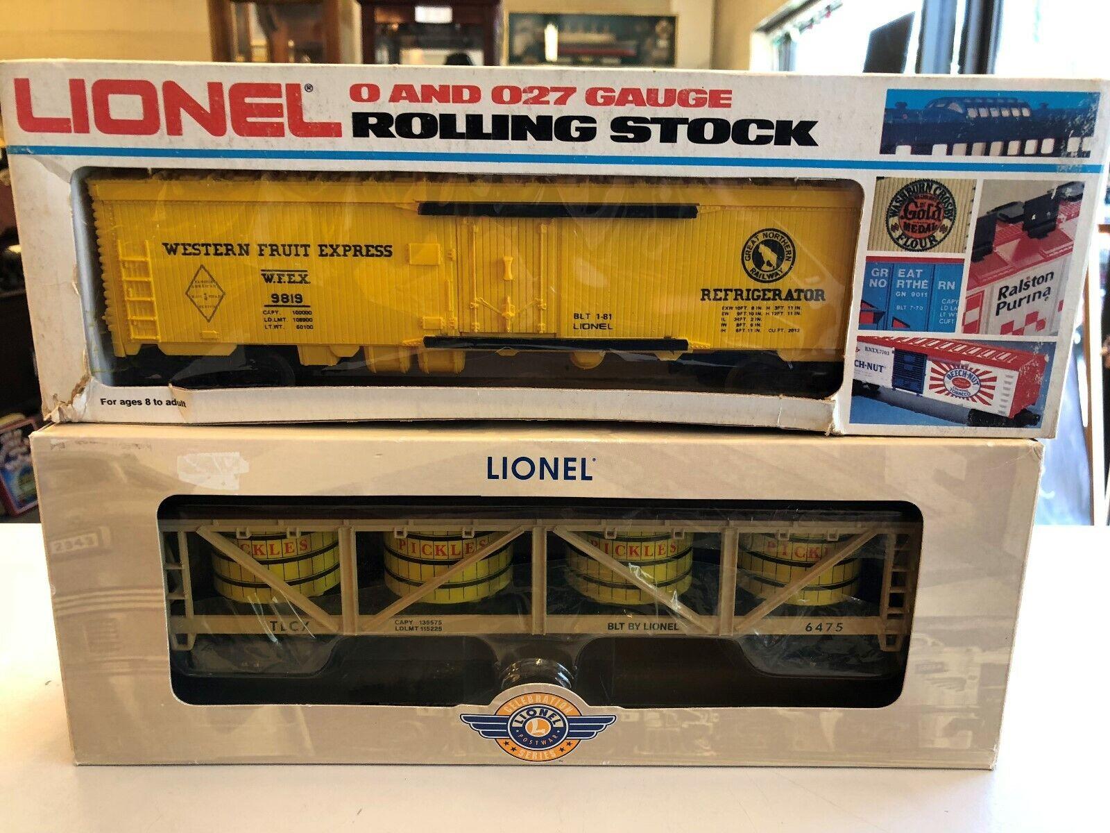tienda de venta Lionel Lionel Lionel lrrc 39496 Post Guerra Serie Pickles IVA coche 6475 9819 Western fruta Hierba  descuentos y mas